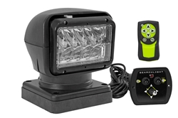 20494-M Magnetic Golight Remote Control LED Spotlight - Wired & Wireless - 12V - 900' Spot Beam