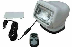 Golight Stryker GL-3000-24-F-M -24V Remote Control Flood Light - Hand Remote -Magnet Base - Cig Plug