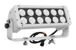 Barra de luces LED de alta intensidad 120 Watt - 12, LEDs de 10-Watt - Soporte de montura U de muñón - 10320 lúmenes