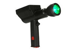 Green LED Pistol Grip Hunting Spotlight