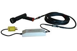 Proyector LED ultravioleta de mano 110V - Longitud de onda UV 365NM - LED 5 Watt - Cable de conexión 25
