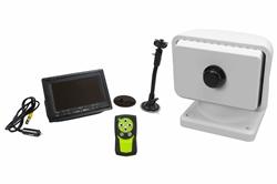 """Sistema de cámara de imagen térmica Helios -6 """"Monitor LCD - Panel de control remoto con cable rígido-Negro"""