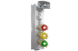 Semáforo LED a prueba de explosiones 30W con bocina de señal - Luz de pila de señal C1D1 y C2D1