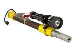Plahvatuskindel lõhkamisvalgus - HID lõhkepüstolite valgus - 20 Watt - laetav - C1D1