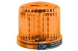 Amber LED 360 kraadi märgutuli - 20 LEDS - akutoitel - magnetpõhi - strobe