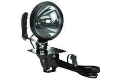 100W Sealed Beam HIR Spotlight - Adjustable Locking Base w/ Handle - 12 Mil Candlepower - 750' Beam