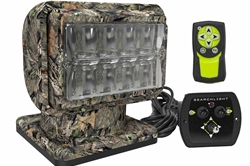Camouflage LED Golight Stryker - Two Wireless Remotes - Permanent Mount
