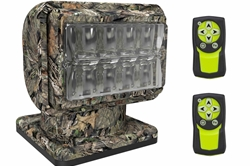 Camouflage LED Golight Stryker - Two Wireless Remotes - Magnetic Mount - 16 ft Cigarette Plug