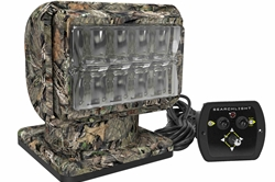 Camouflage LED Golight Stryker - Dash Mount Wireless Remote - Permanent Mount
