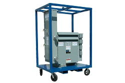 150 KVA Transformer Power Distribution - 480V Primary to 120/208Y Secondary - 400 Amps - CU
