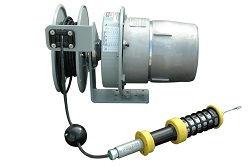 Lámpara LED compacta a prueba de explosiones con carrete de cable - Clase I Div I - Cable 50 'SOOW - 5 Watt LED