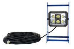 60 Watt Portable LED Work Area Light - Waterproof - Aluminum Frame - Adjustable Light Head - 120-277