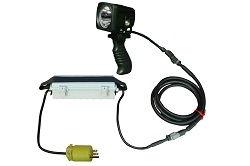 Kõrge intensiivsusega 10 Watt LED pihuarvuti - 50 'Kiire lahtiühendusjuhe - 120-277V AC