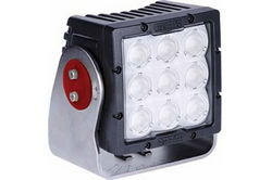 90 Watt High Intensity LED Light - 9 LEDs - 8,281 Lumens - Degreed Aiming - Soft Start LEDs