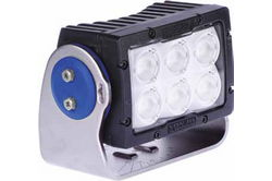 60 Watt High Intensity LED Light - 6 LEDs - 5,521 Lumens - Degreed Aiming - Soft Start LEDs