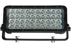 120 Watt infrapunane LED valgusdiood valguskiirel - 750n, 850nm, 940nm - 9-42VDC - Amp-pistik