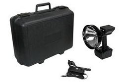 15 Million Candle Power Rechargeable HID Pistol Grip Handheld Spotlight w/ Hard Carrying Case