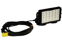 150 Watts High Intensity Magnetic LED Light w/ 40' Cord and Plug - 30 LEDs - 14,790 Lumens