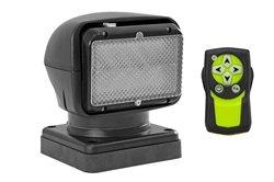 Golight GL-3151-24-F-M -24 Volt Remote Flood Light - Wireless Dash Remote - Magnetic Base - Cig Plug