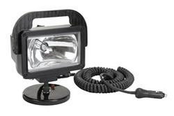 HML-6M 12/24 Volt - 3200 Lumen HID Spotlight with 200 lb grip magnetic base