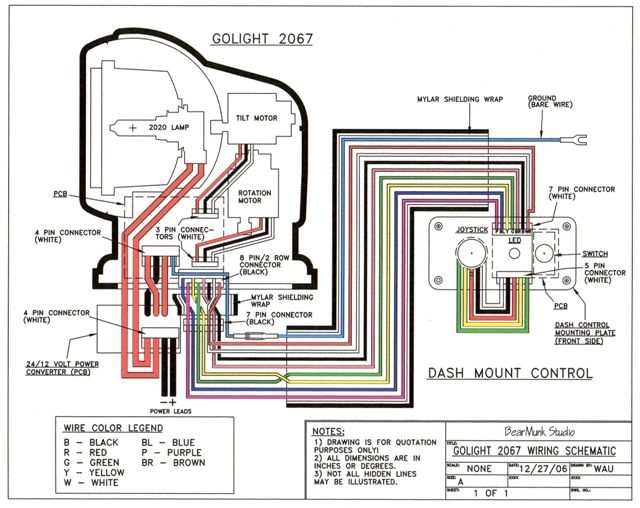 00wiring schematic golight radioray spotlight wired & wireless remotes 700' spot unity spotlight wiring diagram at bakdesigns.co