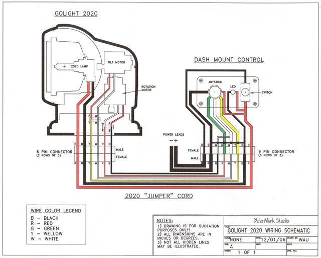 01wiringschematic golight radioray gl 2020 remote control spotlight permanent unity spotlight wiring diagram at bakdesigns.co
