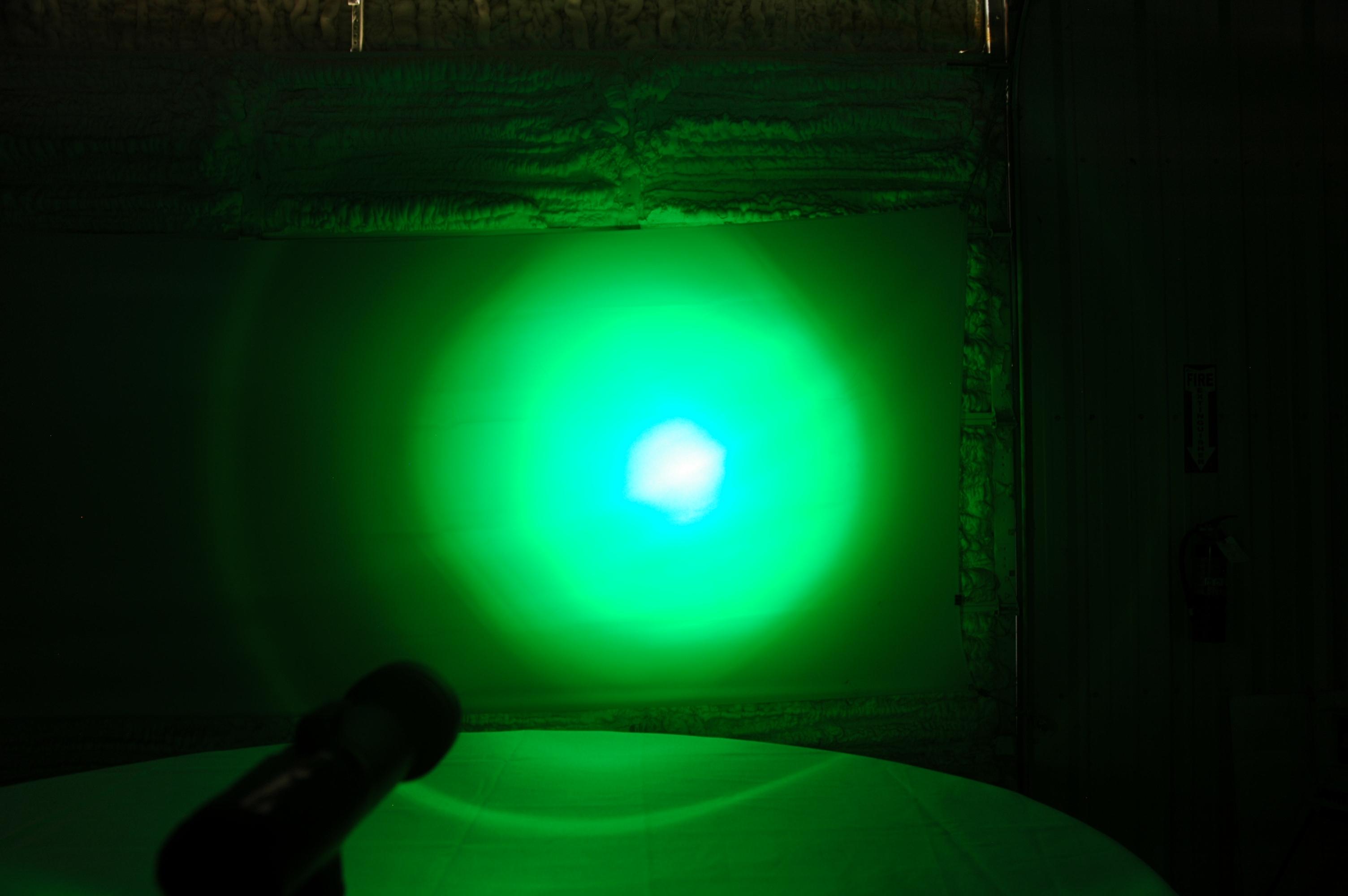 Green LED Handheld Spotlight