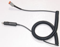 coil cord for Larson Electronics spotlights with magnetic base