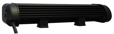 LEDP10W-240X2E LED Light Bar side view.