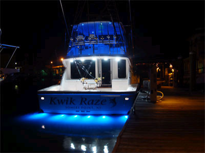 underwater led boat light - lumitec - high intensity led, Reel Combo