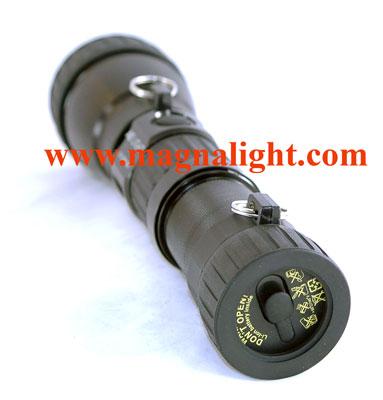 xenide hid metal halide flashlight